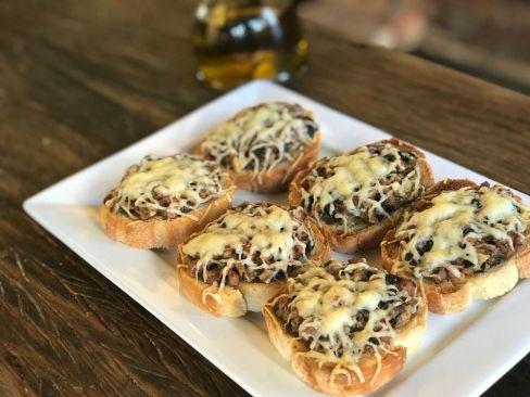 Ristorante Romanos Bruschetta de cogumelos @ divulgação