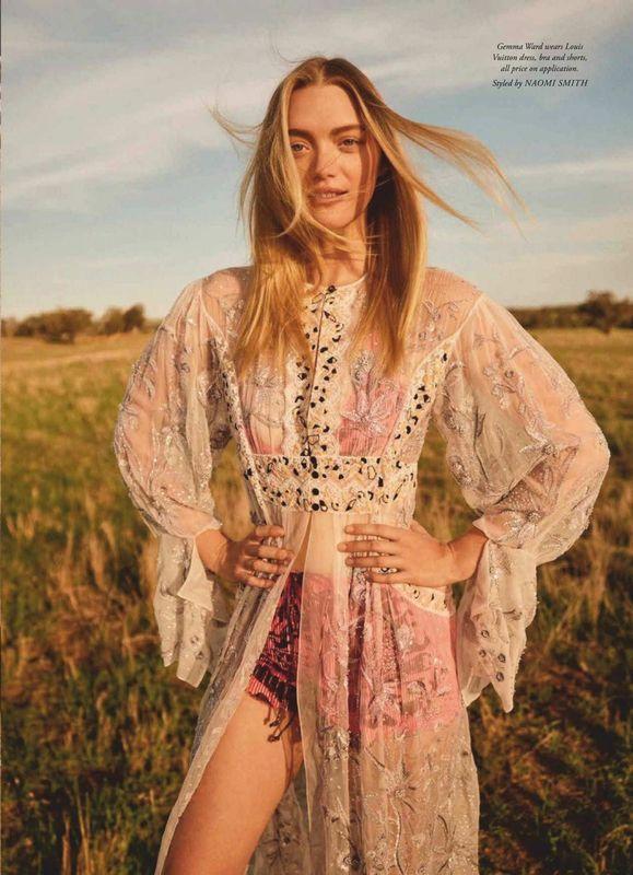 Gemma Ward - Harpers Bazaar Australia - Novembro 2018 @ Georges Antoni (2)