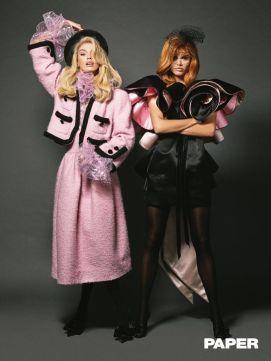 Sara Sampaio e Stella Maxwell - Papel Magazine - A Morte Lhe Cai Bem @ Luca & Alessandro Morelli (2)