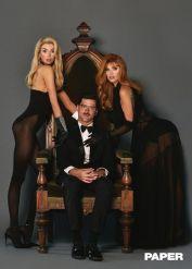 Sara Sampaio e Stella Maxwell - Papel Magazine - A Morte Lhe Cai Bem @ Luca & Alessandro Morelli (3)