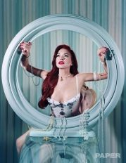 Lindsay Lohan Paper Magazine Winter 2019 @ Jeff Bark (4)