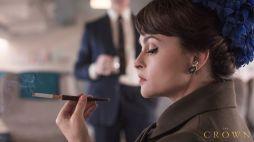 Helena Bohan Carter na terceira temporada de The Crown 2019 @ Netflix