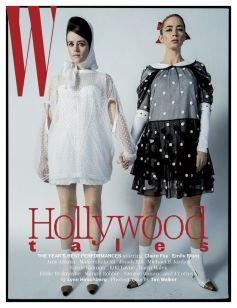 w magazine claire foy e emily blunt @ tim walker
