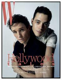 w magazine eddie redmayne e rami malek @ tim walker
