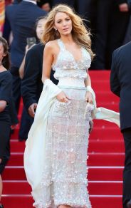 Blake Lively veste Chanel Couture no Festival de Cannes 2014 @ Getty
