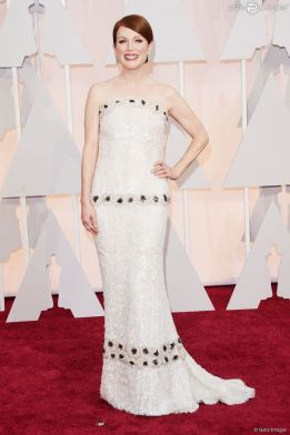 Jullianne Moore veste Chanel Couture no Oscar 2015 @ Getty Images