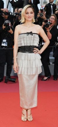 Marion Cotillard veste Chanel Couture no Festival de Cannes 2018 @ Getty Images