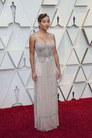 Oscar 2019 Amandia Stenberg veste Miu Miu e joias Forevermark Diamonds @ Getty