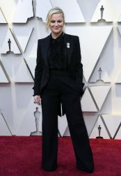 Oscar 2019 Amy Poehler veste Alberta Ferretti Limited Edition @ Getty