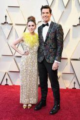 Oscar 2019 Annamarie Tendler e John Mulaney @ Getty