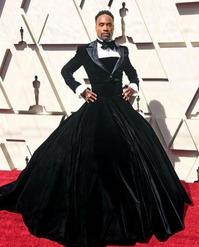 Oscar 2019 Billy Porter veste Christian Siriano @ Getty