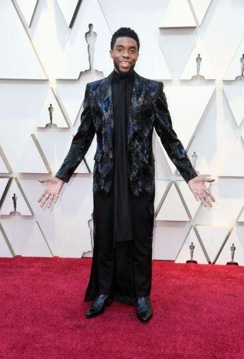 Oscar 2019 Chadwick Boseman @ Getty