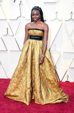 Oscar 2019 Danai Gurira veste Brock Collection e joias Fred Leighton @ Getty