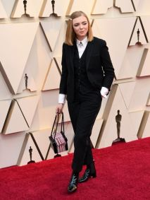 Mandatory Credit: Photo by Andrew H. Walker/BEI/REX/Shutterstock (10112916aw) Elsie Fisher 91st Annual Academy Awards, Arrivals, Los Angeles, USA - 24 Feb 2019