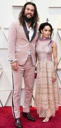 Oscar 2019 Jason Momoa e Lisa Bonet @ getty