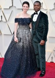 HOLLYWOOD, CA - FEBRUARY 24: (L-R)Jessica Oyelowo and David Oyelowo attends the 91st Annual Academy Awards at Hollywood and Highland on February 24, 2019 in Hollywood, California. (Photo by Jeff Kravitz/FilmMagic)
