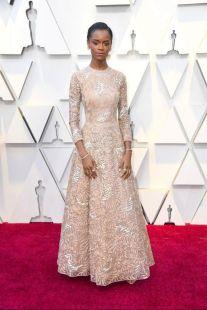 Oscar 2019 Letitia Wright veste Dior Haute Couture @ Getty