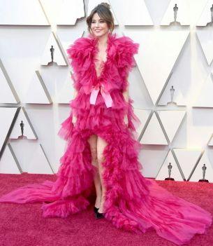 Oscar 2019 Linda Cardinalli veste Schiaparelli Couture @ Getty