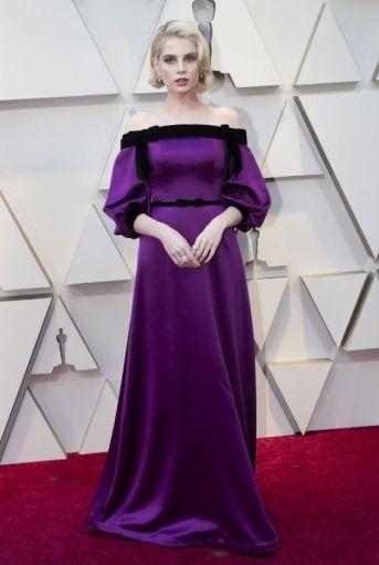 Oscar 2019 Lucy Boynton veste Rodarte @ Getty