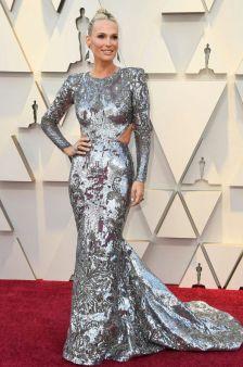 Oscar 2019 Molly Sims veste Zuhair Murad Couture @ getty