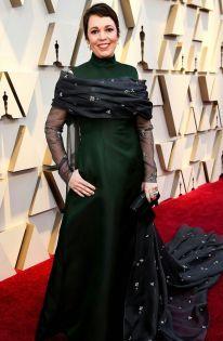 Oscar 2019 Olivia Colman veste Prada e joias Chopard @ Getty