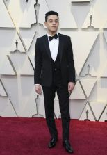 Oscar 2019 Rami Malek veste Saint Laurent by Anthony Vaccarello @ Getty