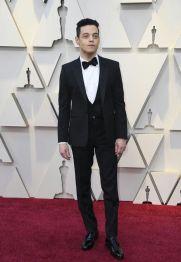 Oscar 2019 Rami Malek veste Saint Laurent by Anthony Vaccarello @ Getty