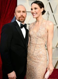 Oscar 2019 Sam Rockwell e Leslie Bibb @ Getty