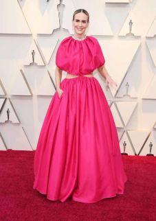 Oscar 2019 Sarah Paulson veste Brandon Maxwell @ Shutterstock