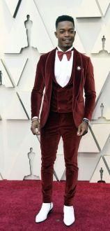 Oscar 2019 Stephan James veste Etro @ Getty