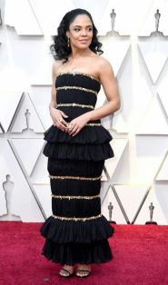 Oscar 2019 Tessa Thompson veste Chanel Couture @ Getty