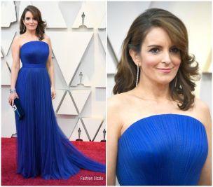 Oscar 2019 Tina Fey veste Vera Wang @ Getty