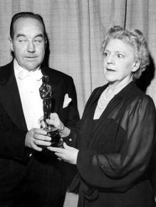 Oscar 1945 Ethel Barrymore (Apenas um Coração Solitário) @ Getty