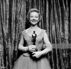 Oscar 1956 Jo Van Fleet (Vidas Amargas) @ Earl Leaf/Michael Ochs Archives/Getty Images