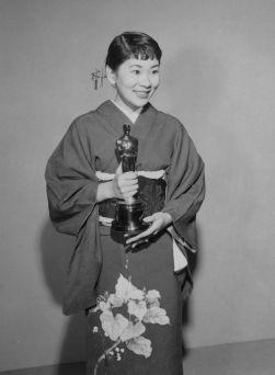 Oscar 1958 Miyoshi Umeki (Sayonara) @ AMPAS
