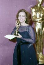Oscar 1977 Beatrice Straight (Rede de Intrigas) @ Globe Photos