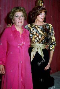 Oscar 1979 Maggie Smith (Hotel California) ao lado de Mauren Stapleton @ Phil Roach