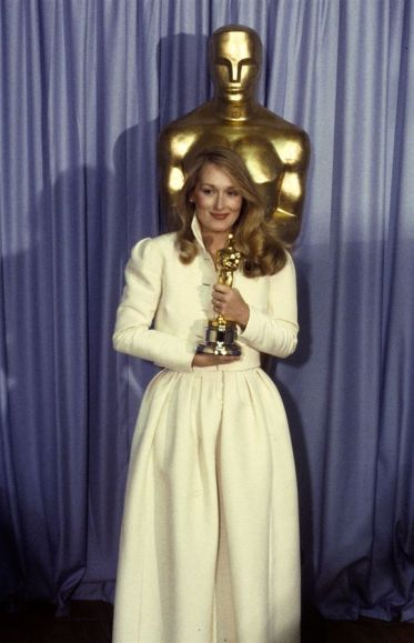 Oscar 1980 Meryl Streep (Kramer vs Kramer) @ ABC Photo by Getty Images