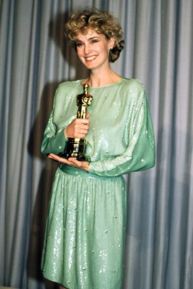 Oscar 1983 Jessica Lange (Tootsie) @ Rex Features