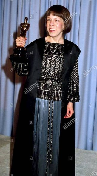Oscar 1984 Linda Hunt (O Ano Que Vivemos em Perigos) © Phil Roach/Globe Photos/ZUMAPRESS.com)