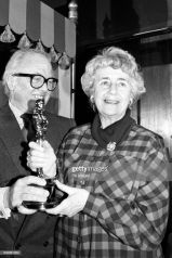 Oscar 1985 Peggy Ashcroft (Passagem Para Índia) @ PA Images via Getty Images