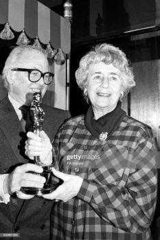 Oscar 1985 Peggy Ashcroft (Passagem Para Índia) @ PA Images via Getty Images