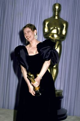 Oscar 1987 Dianne Wiest veste Donald Brooks @ Getty
