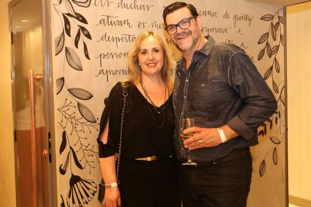 Fabricia e Fernando Pellizon estão na 25a Edição da Campinas Decor @ Tatiana Ferro