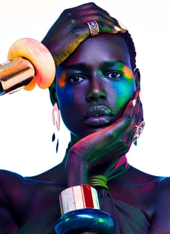 Ajak Deng Vogue Portugal Abril 2019 @ Jamie Nelson (4)