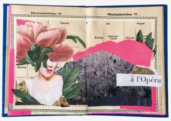 Colagem à I'Opéra by Ana Paula Barros @ Reprodução