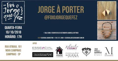 Convite Jorge à Porter by Ana Paula Barros @ Reprodução