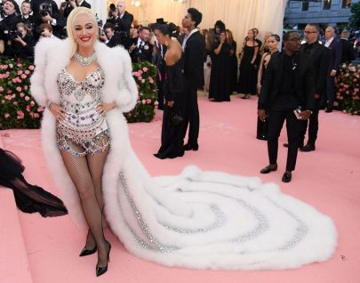 Mandatory Credit: Photo by David Fisher/REX/Shutterstock (10225566fw) Gwen Stefani Costume Institute Benefit celebrating the opening of Camp: Notes on Fashion, Arrivals, The Metropolitan Museum of Art, New York, USA - 06 May 2019