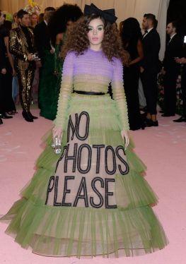 Mandatory Credit: Photo by Broadimage/REX/Shutterstock (10229644ry) Dakota Johnson Costume Institute Benefit celebrating the opening of Camp: Notes on Fashion, Arrivals, The Metropolitan Museum of Art, New York, USA - 06 May 2019