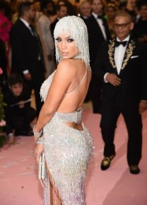 Mandatory Credit: Photo by Michael Buckner/Variety/REX/Shutterstock (10227717dp) Jennifer Lopez Costume Institute Benefit celebrating the opening of Camp: Notes on Fashion, Arrivals, The Metropolitan Museum of Art, New York, USA - 06 May 2019